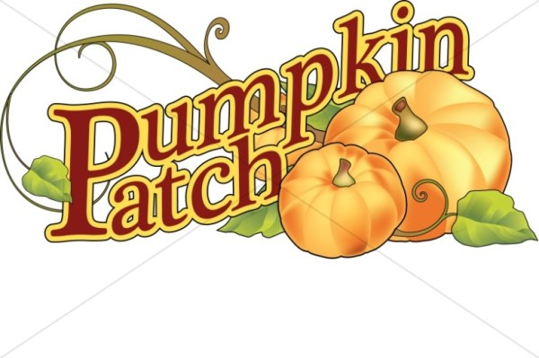 pumpkin patch wordart harvest