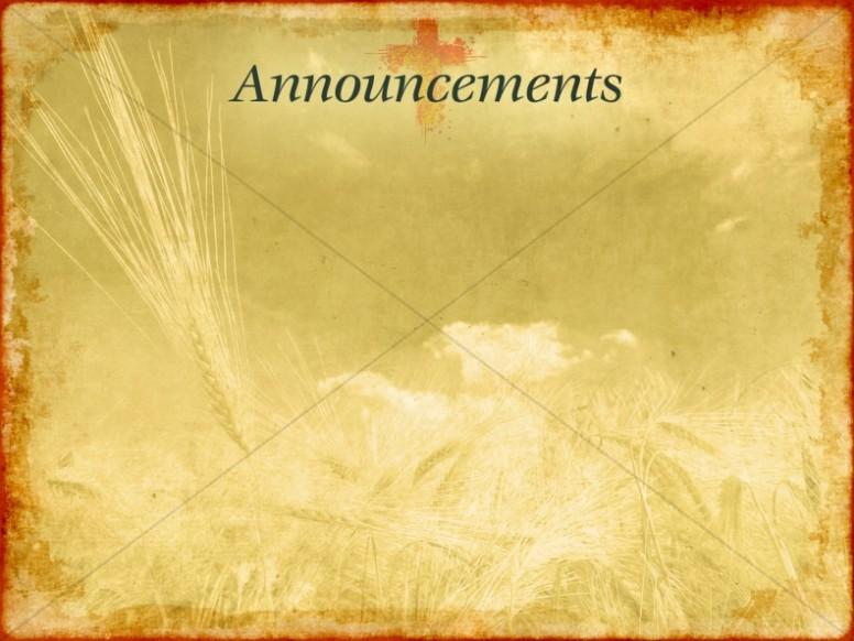 Christian Wallpaper Fall Offering Church Announcements Announcement Backgrounds Sharefaith