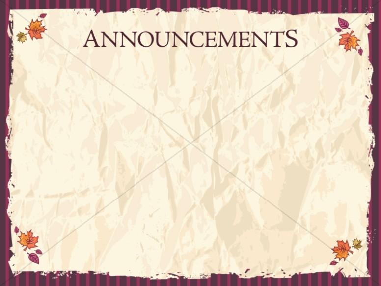 Fall Harvest Wallpaper Christian Church Announcements Announcement Backgrounds Sharefaith