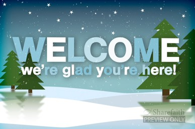 Christian Wallpaper Fall Welcome Winter Welcome Video Splash Screen Church Service Motion