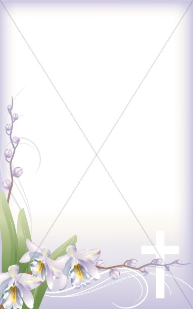 Floral Bulletin Covers  Flower Program Covers  Church Bulletin Covers