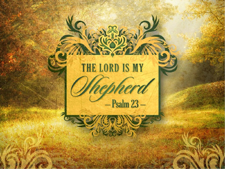Kids Fall Wallpaper Psalm 23 Graphics Psalms Church Graphics Shepherd