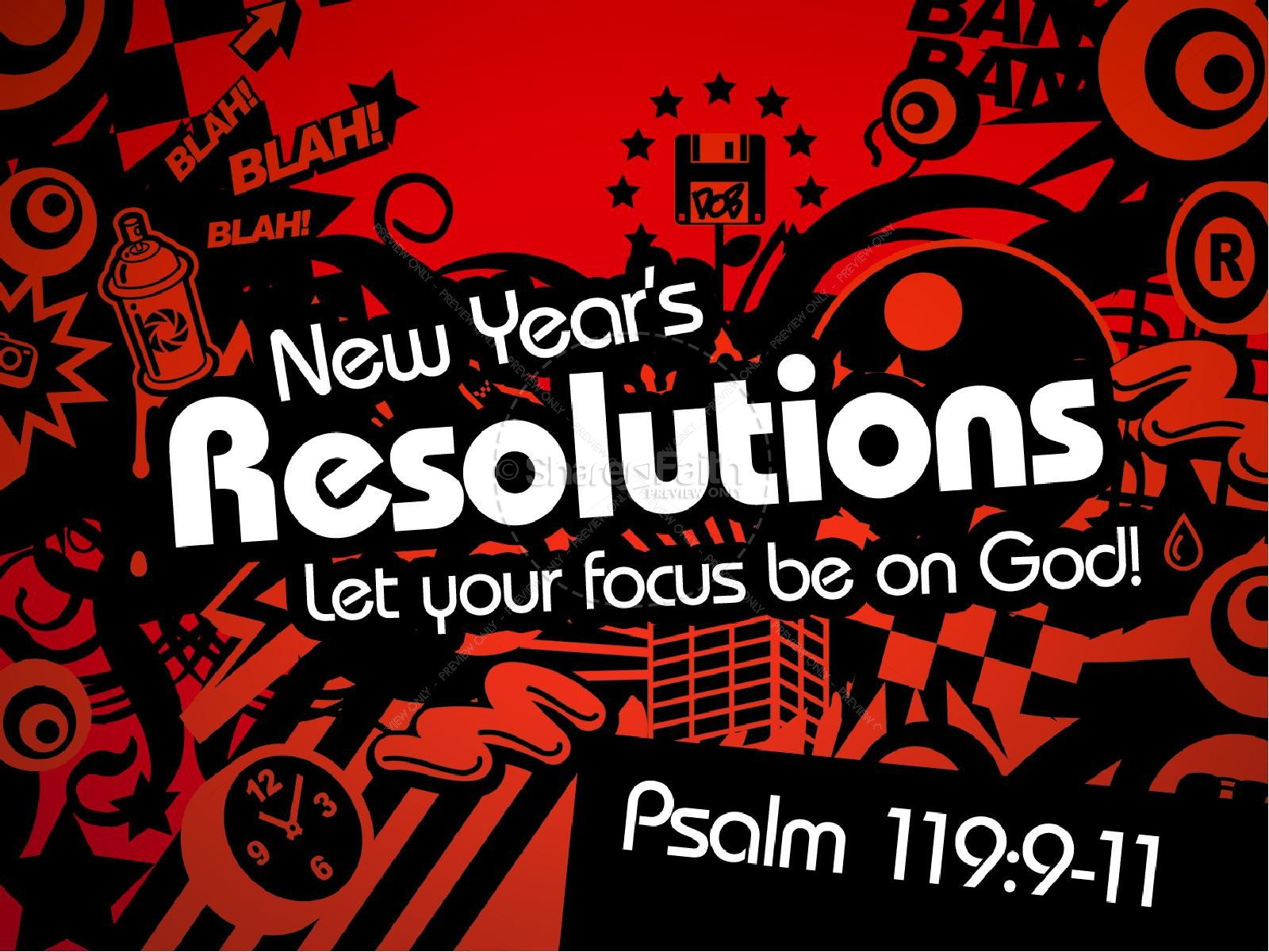 New Year S Resolutions Christians