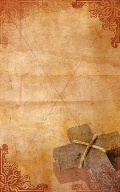 Christian Cross Bulletin Cover  Cross Bulletin Covers