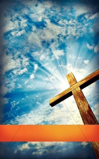 Cross Bulletin Covers  Religious Bulletin Covers  Church