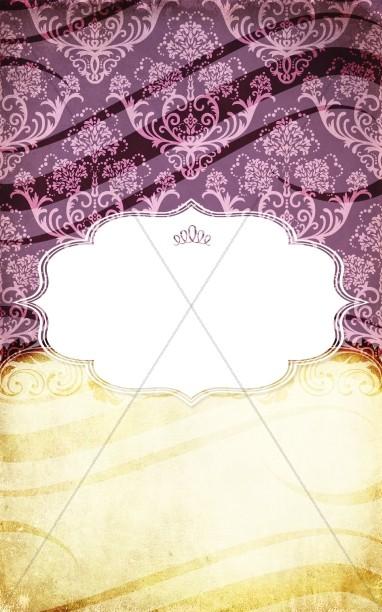 wedding program cover programs covers bella figura lg royal peony