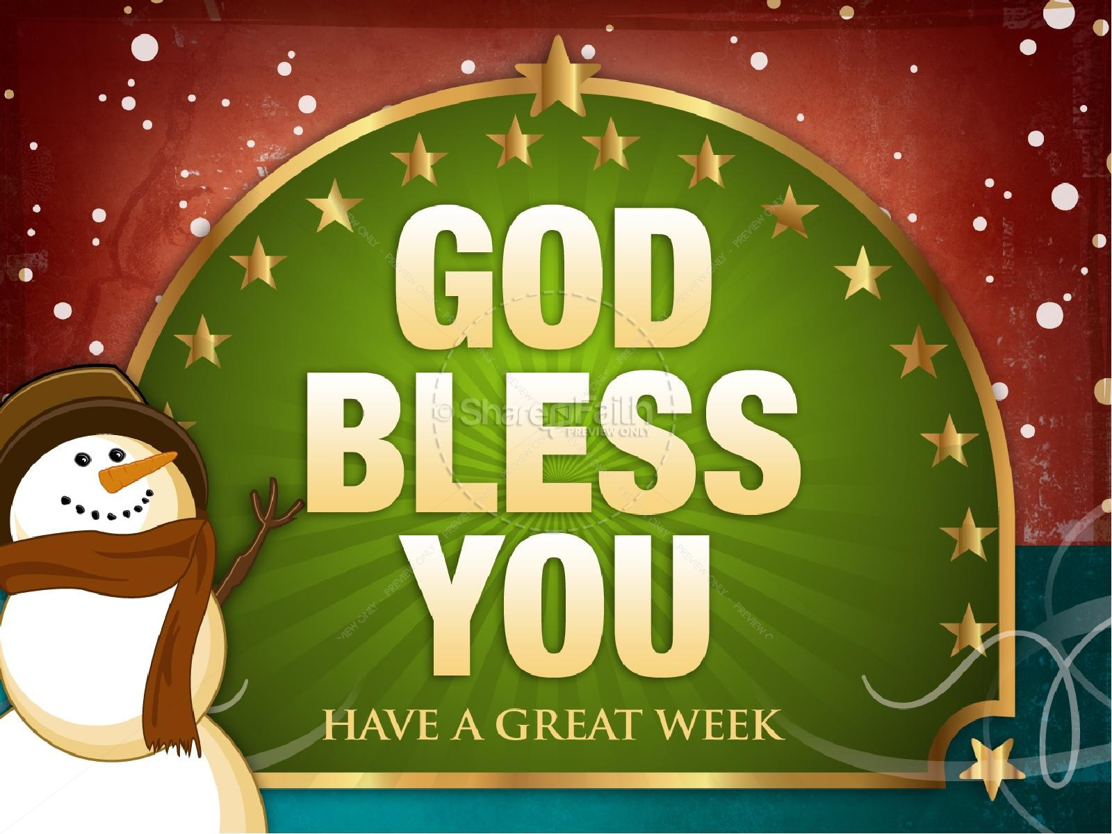 Have Great Week Clip Art