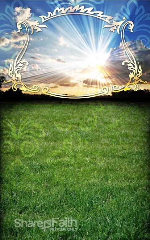 Prayer Bulletin Template Nature Bulletin Covers