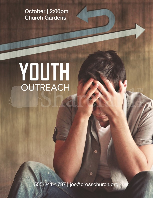 Outreach Youth Flyer Templates Template Flyer Templates