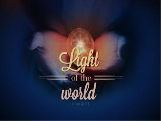 Light Of The World Christmas PowerPoint Sermon Template