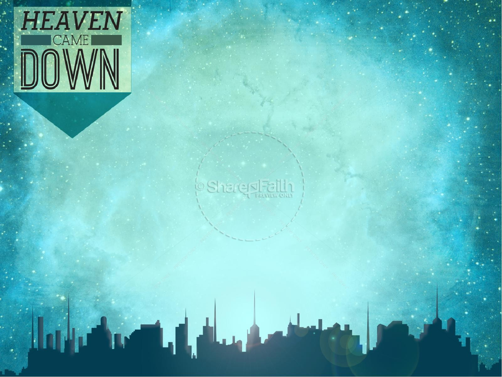 Hd Wallpaper Zip Pack Free Download Heaven Came Down Powerpoint Sermon Easter Sunday