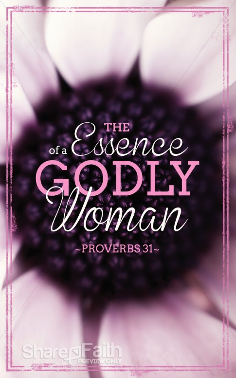 Godly Woman Church Bulletins Mothers Day Bulletin Covers