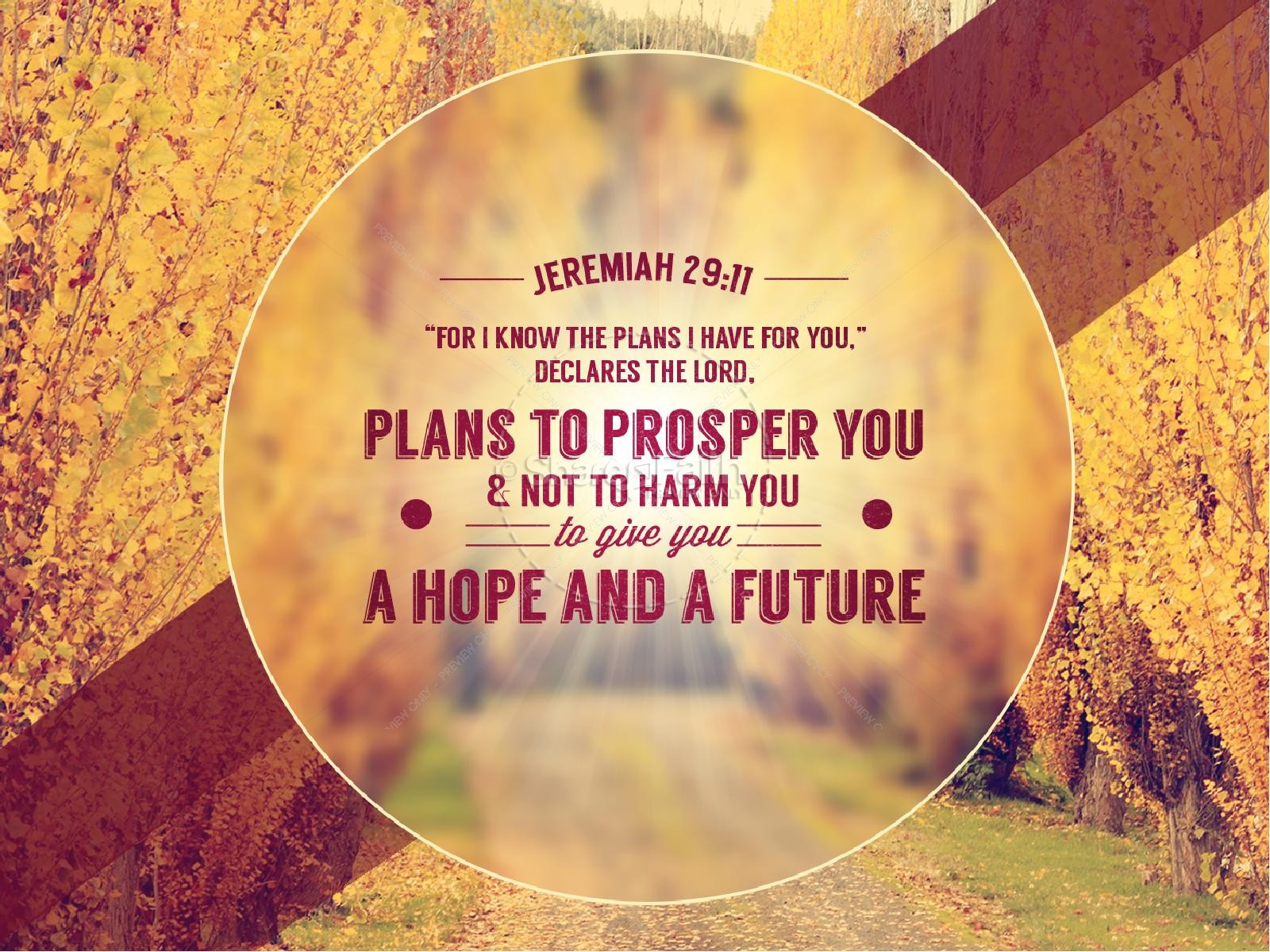 Live Wallpaper Fall Leaves God Has A Plan Pastor Powerpoint Powerpoint Sermons