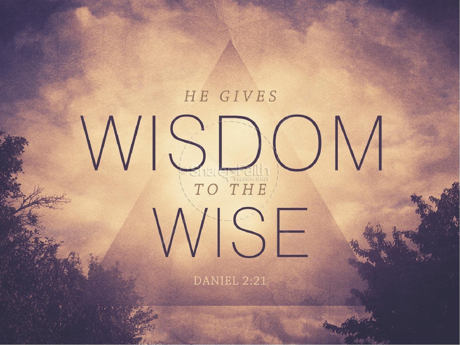 Christian Wallpaper Fall Offering He Gives Wisdom Church Powerpoint