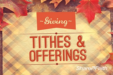 Christian Wallpaper Fall Offering Church Harvest Festival Powerpoint Fall Thanksgiving