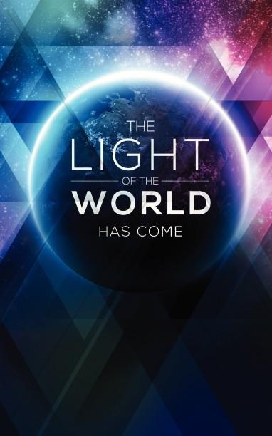 Light Of The World Galaxy Christian Bulletin Christmas Bulletins