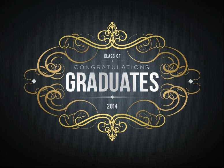 Graduation Day PowerPoint, Graduation Presentation