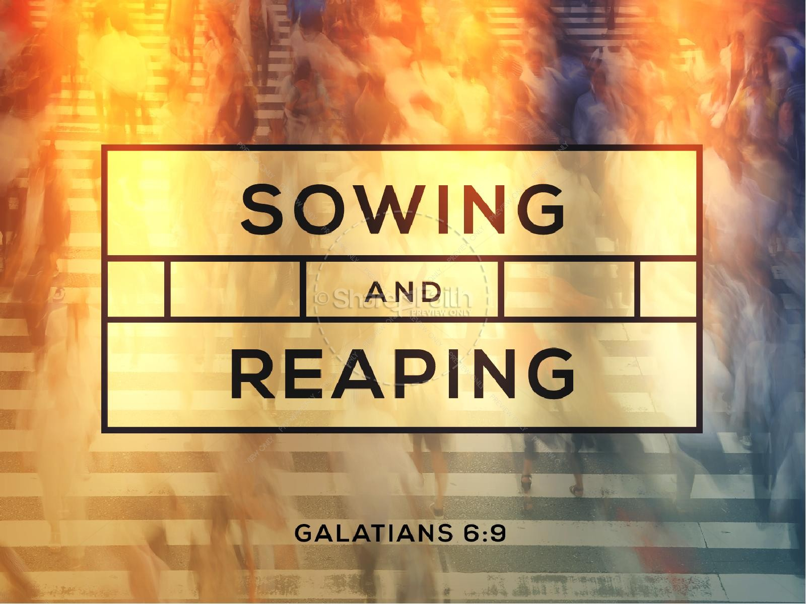 sowing and reaping ministry powerpoint