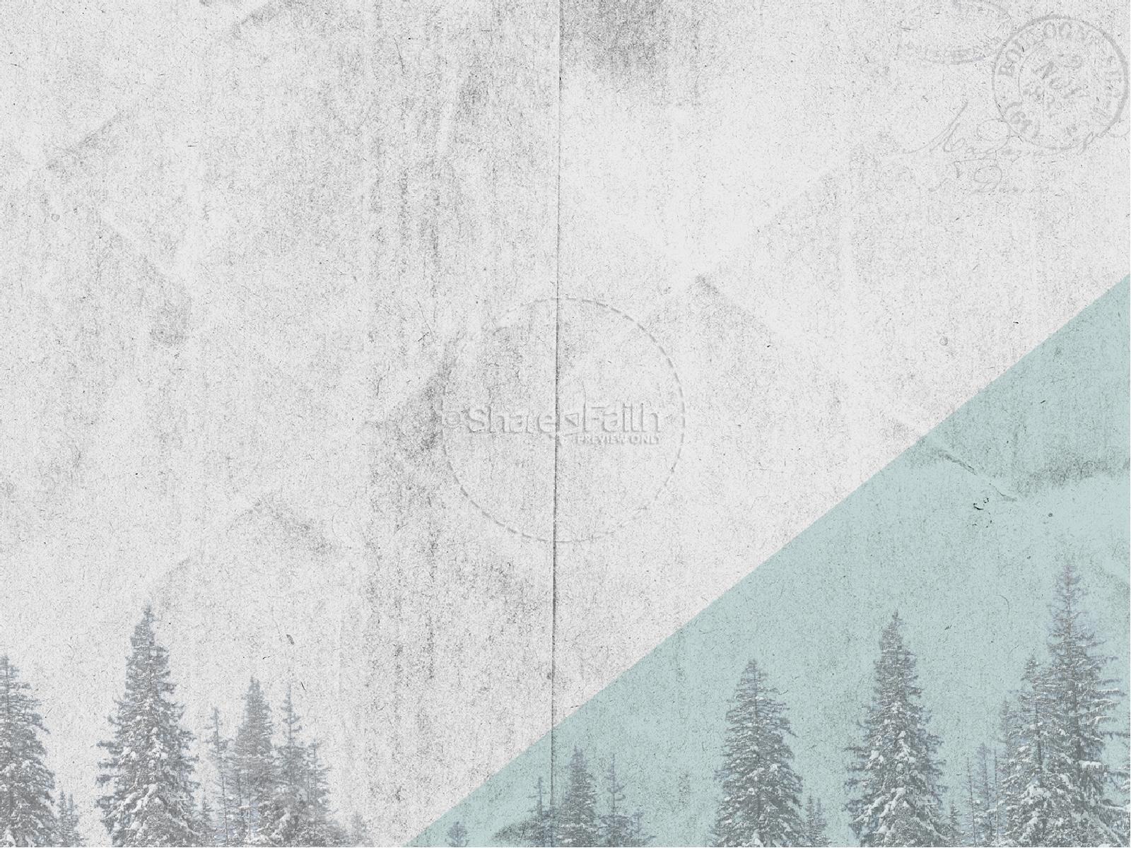 Winter Retreat Christian PowerPoint Christmas PowerPoints