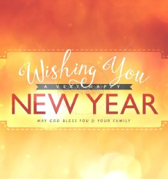 wishing a happy new year ministry powerpoint [ 1600 x 1200 Pixel ]