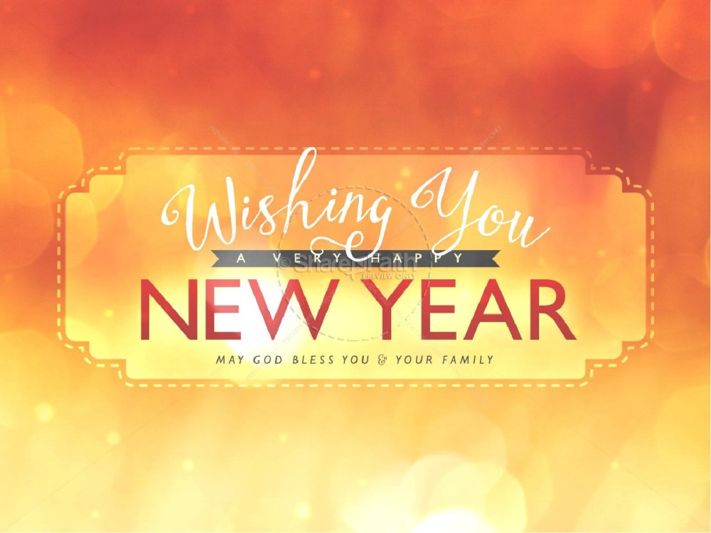 medium resolution of wishing a happy new year ministry powerpoint