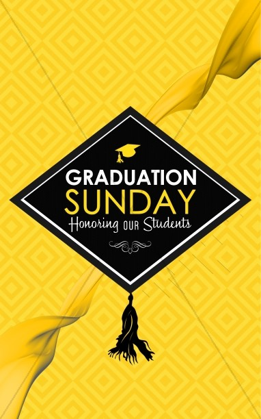 Graduation Sunday Honoring Church Media Set