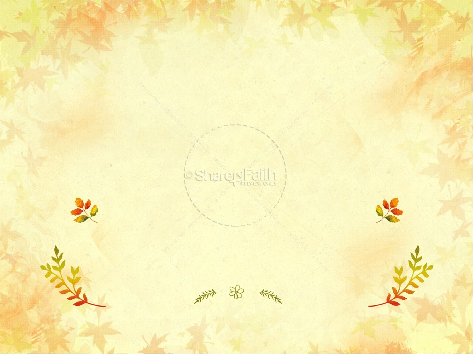Fall Leaves Wallpaper Powerpoint Background Fall Festival Family Fun Religious Powerpoint