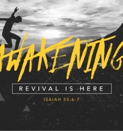 awakening revival is here church powerpoint [ 1600 x 1200 Pixel ]