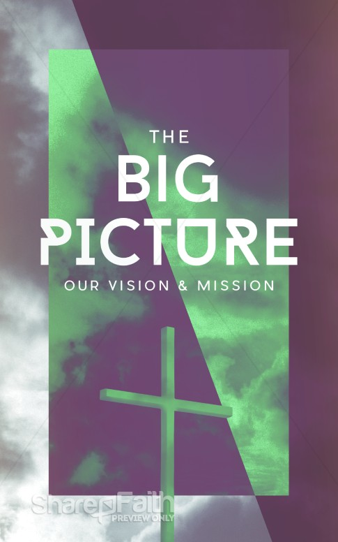 The Big Picture Missions Bulletin Sermon Bulletin Covers