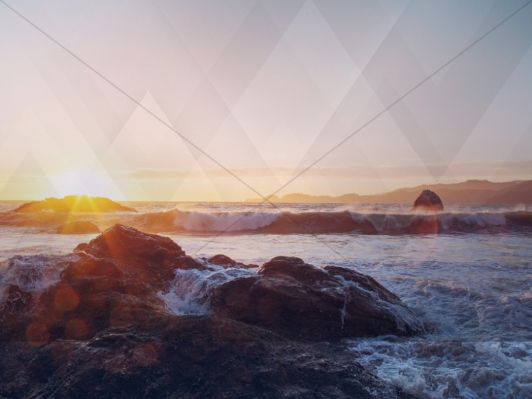 Light Fall Wallpaper Ocean Waves Worship Background Worship Backgrounds