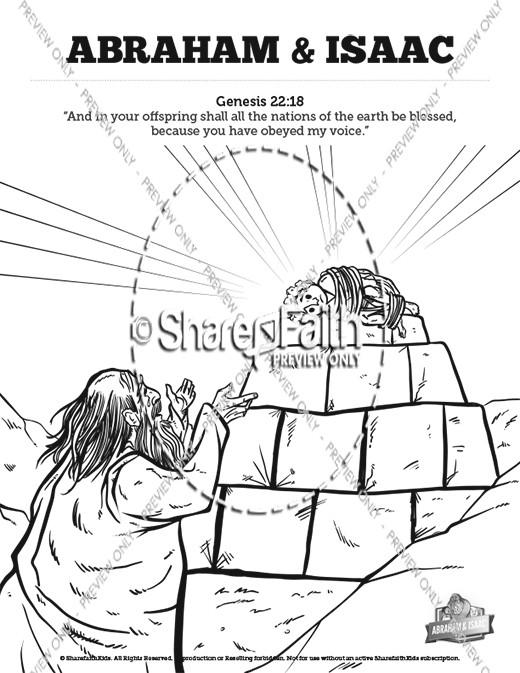 Balaam and His Donkey Sunday School Coloring Pages