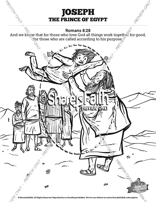 The Story Of Joseph the Prince of Egypt Sunday School