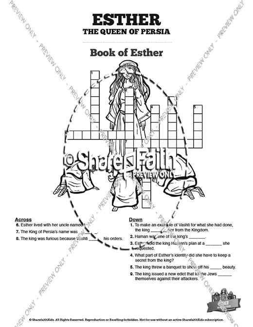 Sunday School Crossword Puzzles and Printable Crossword