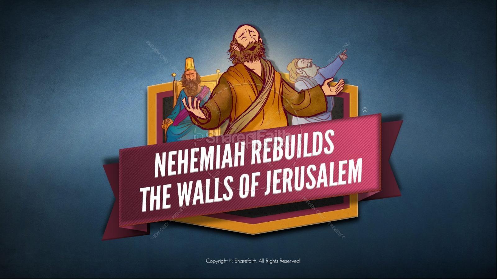 hight resolution of book of nehemiah kids bible story