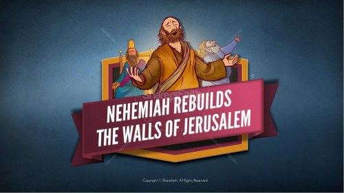 small resolution of book of nehemiah kids bible story