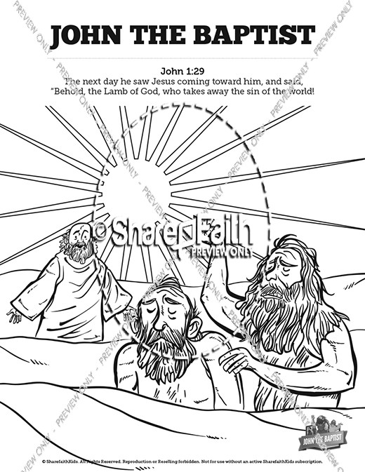 Birth Of John The Baptist Kids Powerpoint ( 10 found )