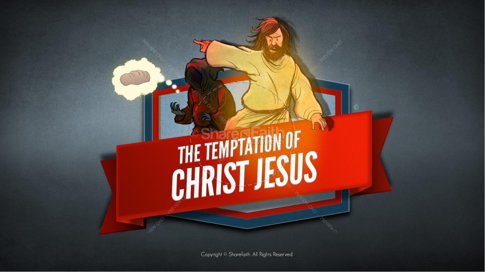 hight resolution of matthew 4 jesus tempted kids bible story