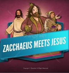 luke 19 story of zacchaeus kids bible lesson [ 1600 x 900 Pixel ]