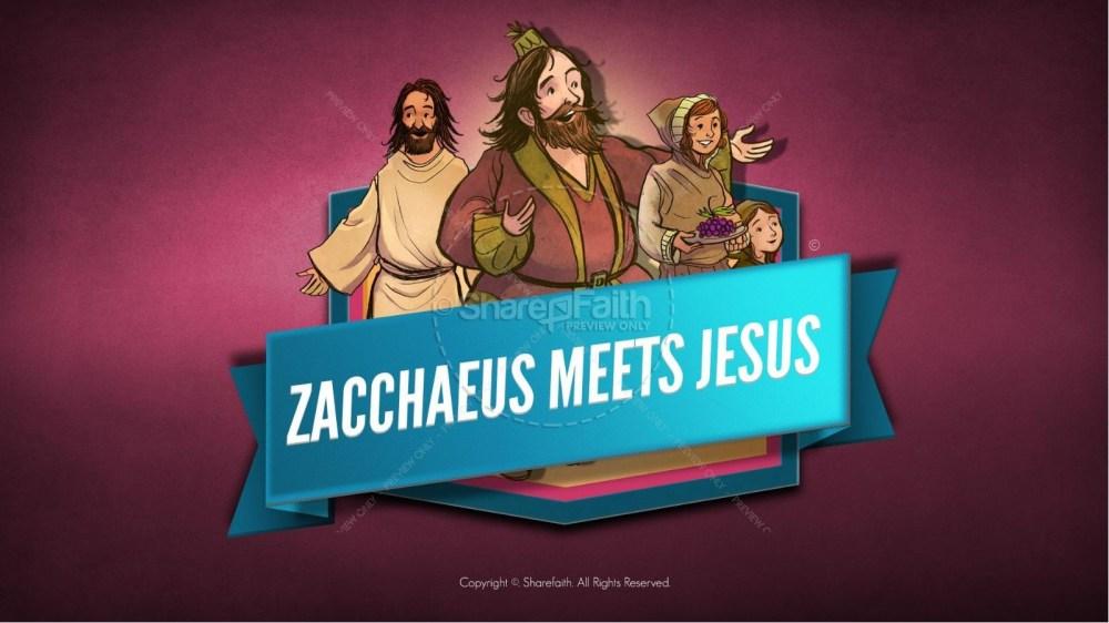 medium resolution of luke 19 story of zacchaeus kids bible lesson