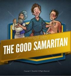the good samaritan kids bible story [ 1600 x 900 Pixel ]