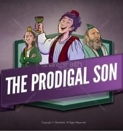 the prodigal son kids bible story [ 1600 x 900 Pixel ]