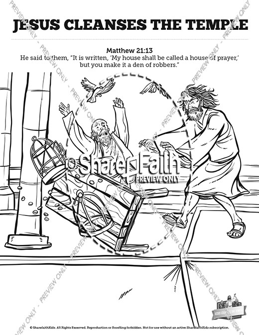 Matthew 7 Plan of Salvation Sunday School Coloring Pages