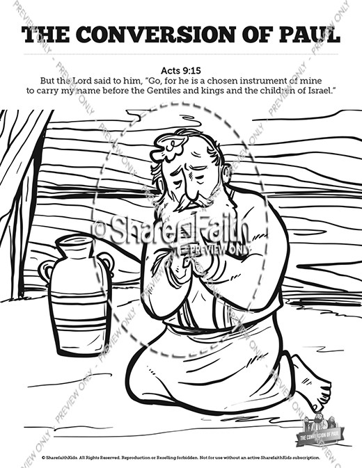 John 3 Nicodemus Bible Sunday School Coloring Pages