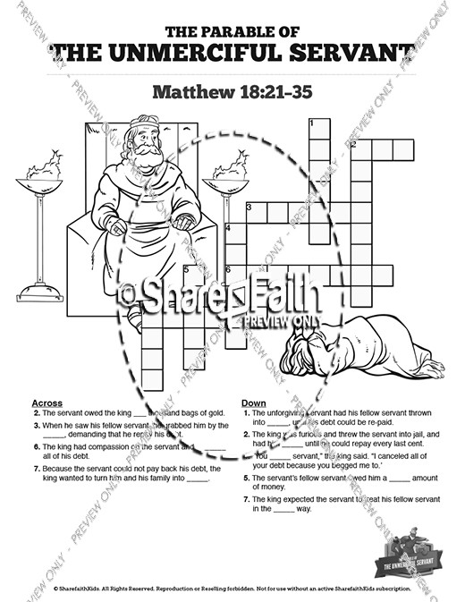 Matthew 18 The Parable of the Unforgiving Servant Sunday