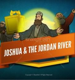 joshua 3 crossing the jordan river kids bible story [ 1600 x 900 Pixel ]