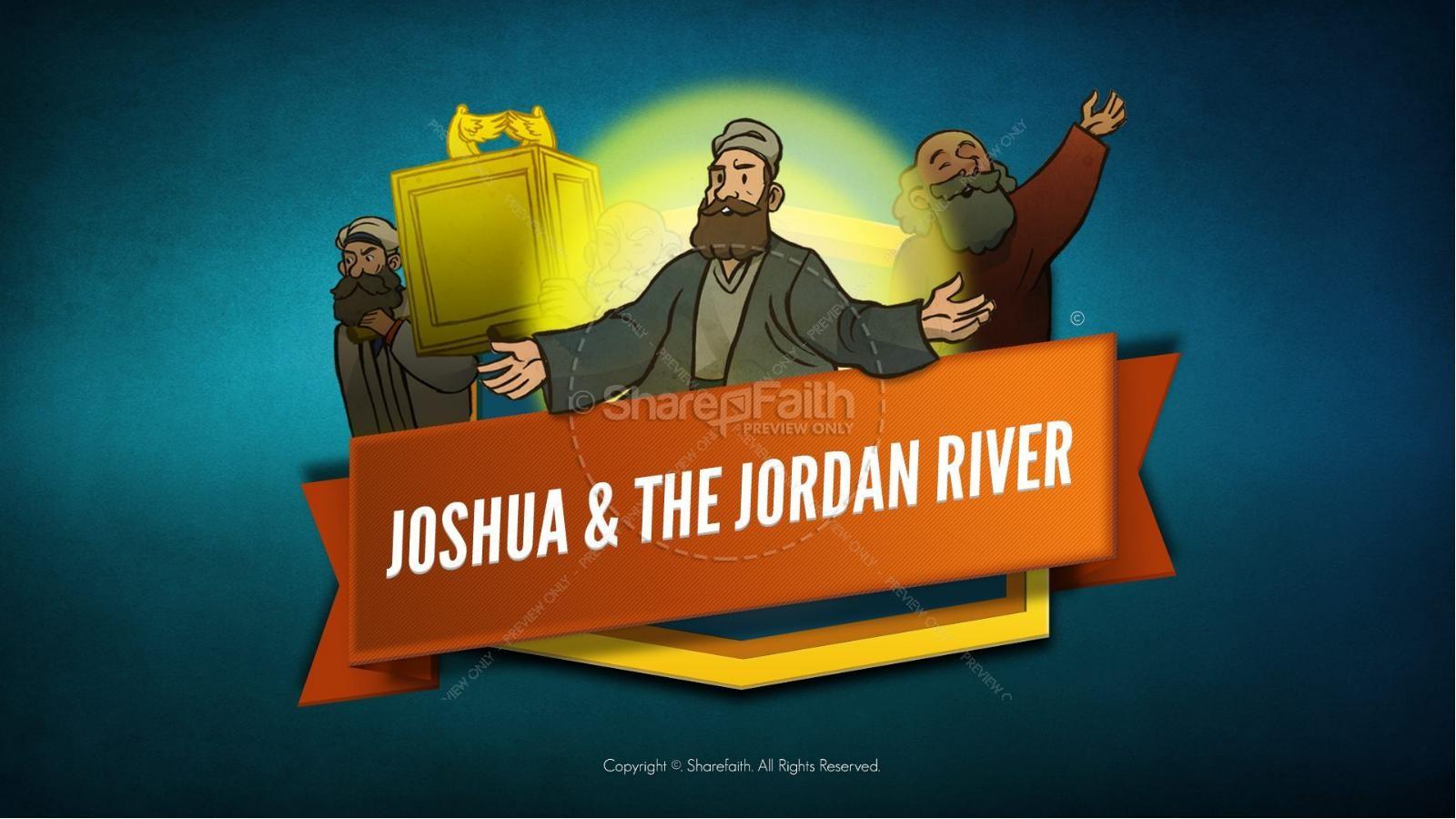 hight resolution of joshua 3 crossing the jordan river kids bible story