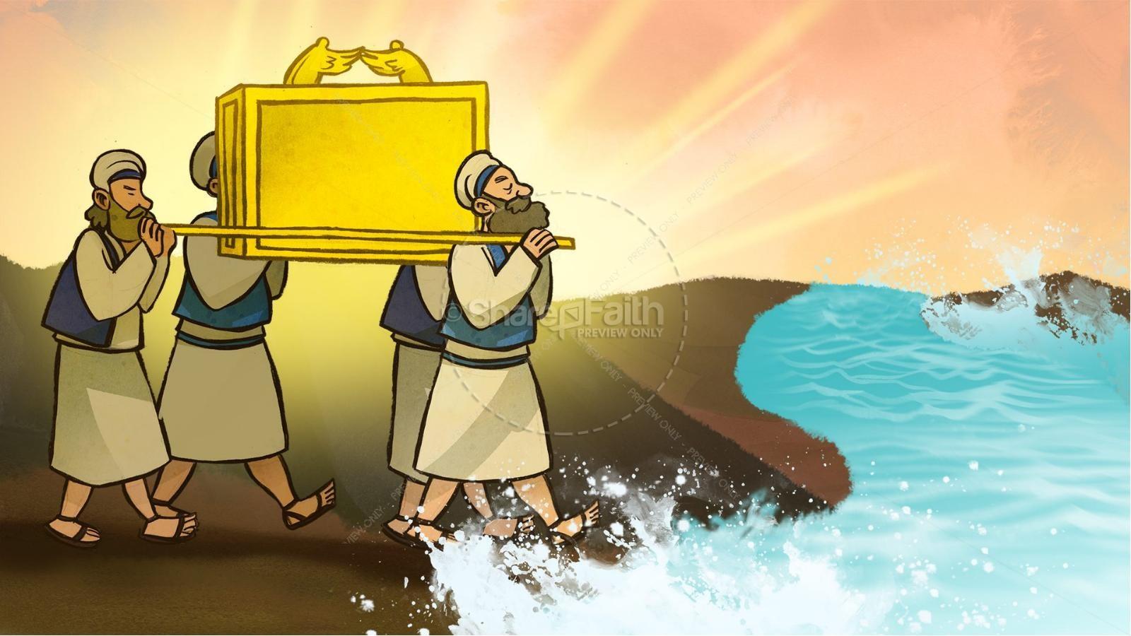 Joshua 3 Crossing The Jordan River Kids Bible Story
