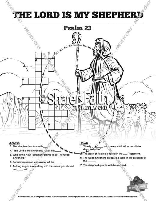 Psalm 23 Bible Coloring Pages Coloring Pages
