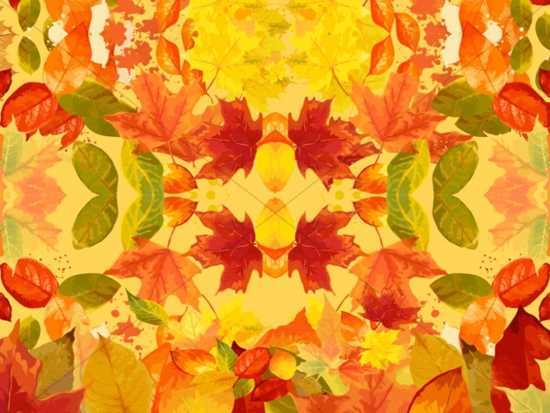 Falling Leaves Wallpaper Live Autumn Leaves Kaleidoscope Christian Background