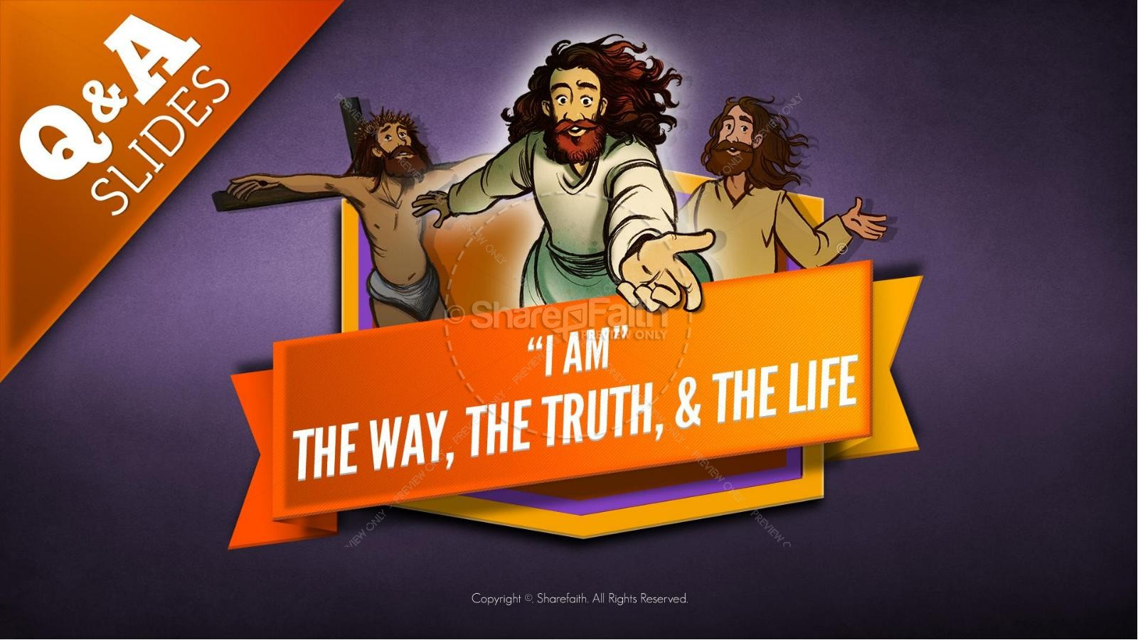 hight resolution of john 14 the way the truth and the life kids bible story